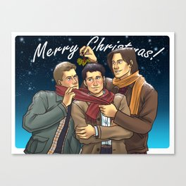 A Team Free Will Christmas Canvas Print