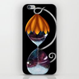 Stars of time iPhone Skin