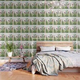 Cactus Watercolor Wallpaper