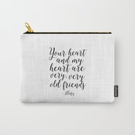Hafiz Quote Valentines Day Decor Gift For Her Printable Quotes Best Friends Gift Love Sing Follow Carry-All Pouch