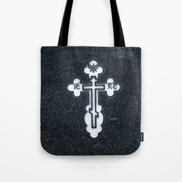 Russian Greek Orthodox Cross Tote Bag