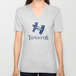 Tennessee Tie Fighters - NFL Unisex V-Neck