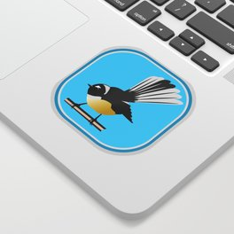 Fantail NZ BIRD Sticker