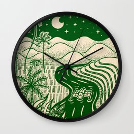 Memories of the Philippines Wall Clock