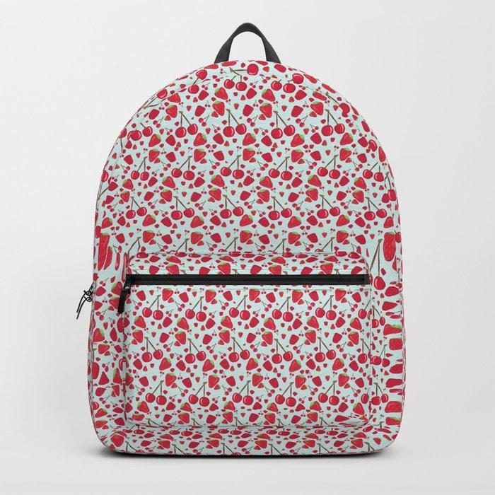 Fruit Salad - Red Berries Backpack