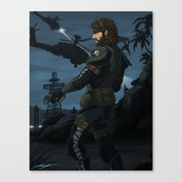 Big Boss SV-Sneaking Suit Canvas Print