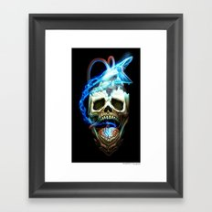 The Martyr Framed Art Print