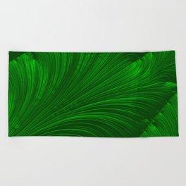 Renaissance Green Beach Towel