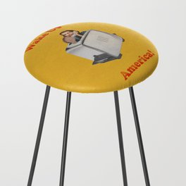 Wake Up Call Counter Stool