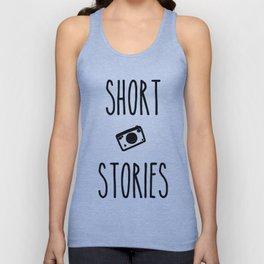 Short Stories Unisex Tank Top