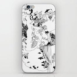 Caught In-Between iPhone Skin