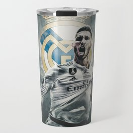 Passion Sergio Ramos Real Madrid Travel Mug
