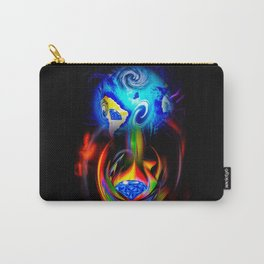 Our World Is A Magic - Is A Diamond Carry-All Pouch