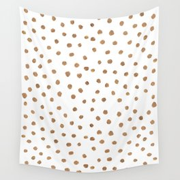 Goldie Dots Wall Tapestry