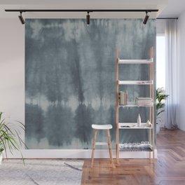 Tye Dye Gray Wall Mural