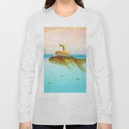 Submarine Goldfish Long Sleeve T-shirt