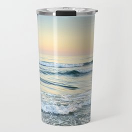 Serenity sea. Vintage. Square format Travel Mug