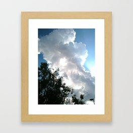Silver Linings Framed Art Print