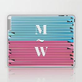Man and Woman Creative Artwork Laptop & iPad Skin