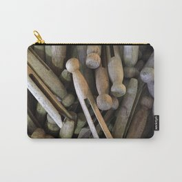 When Pins Were for Laundry, Not Images Carry-All Pouch