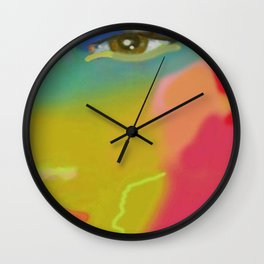 Communication Three Wall Clock