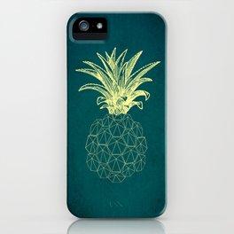 y-hello pineapple iPhone Case