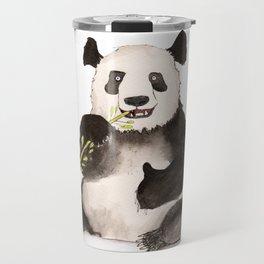 Giant Panda (ailuropoda melanoleuca) Travel Mug