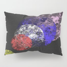 Aligned Universe - Space Abstract Pillow Sham