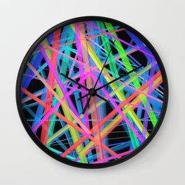 Colorful Rainbow Prism Wall Clock