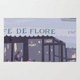 Cafe de flore Rug
