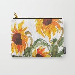 sunflower watewrcolor 2018 Carry-All Pouch