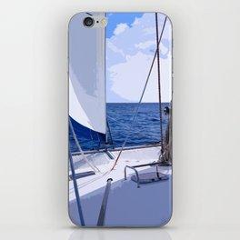 Sailing Winds - Sailing the Caribbean iPhone Skin