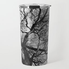 Old oak tree. Moscow district. Travel Mug