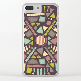 Wheel of life Clear iPhone Case