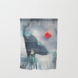 Heart Penguin Wall Hanging