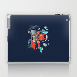 Bounty Hunter Space Cat Killa Laptop & iPad Skin