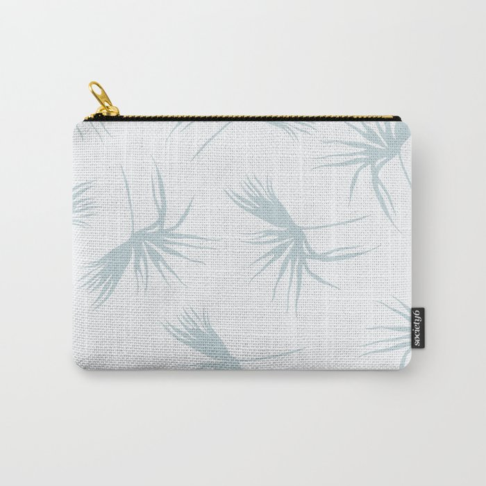 Light leaf pattern Carry-All Pouch