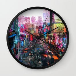 Sweet City Wall Clock