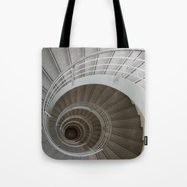 the spiral (architecture) Tote Bag