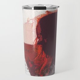 Sunset Girl Travel Mug