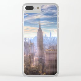 New York City View Clear iPhone Case