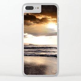 Rhythm of the Island Clear iPhone Case