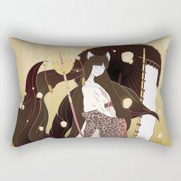 Sunrise at Nara Rectangular Pillow