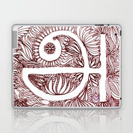 A in Tamil Laptop & iPad Skin