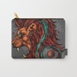 Leo The Lion - Zodiac Sign Carry-All Pouch