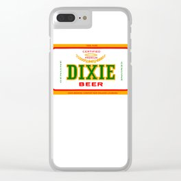 DIXIE BEER OF NEW ORLEANS Clear iPhone Case