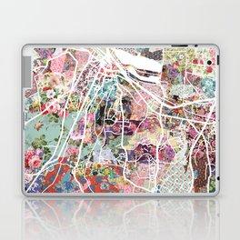 Honfleur map Laptop & iPad Skin