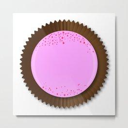 Chocolate Box Strawberry Metal Print