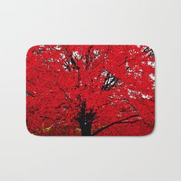 TREE RED Bath Mat