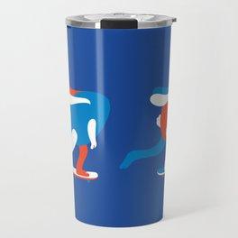 Spring rolls in blue Travel Mug